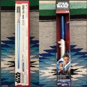 (1) NEW Star Wars Rey Starkiller Base Lightsaber
